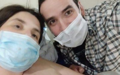 Venciendo miedos y en un rol activo, Cristina tuvo su Parto Positivo en en Hospital Mútua de Terrassa.