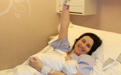 El Parto Positivo y respetado de Noelia en el Hospital de la Plana en Vila-real, Castellón