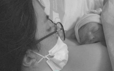 El parto natural de Elena el Hospital Parc Taulí de Sabadell