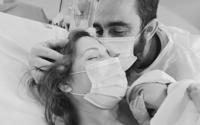 El parto positivo y flexible de Alba, en el Hospital General de Elche