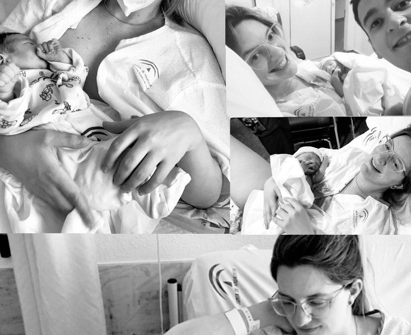 El parto natural de Cristina, 24 horas antes de su fecha de inducción, en el Hospital La Inmaculada Huercal-Overa.